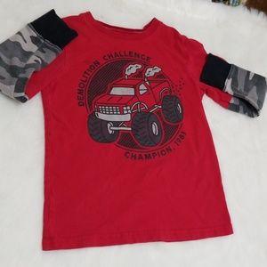 Monster truck long sleeve t-shirt 5/6